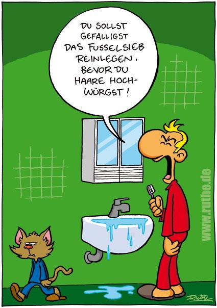 Humorseite 07 - Badezimmer comic ...